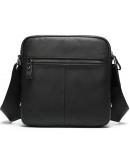 Фотография Мужская черная сумка через плечо Vintage 20034
