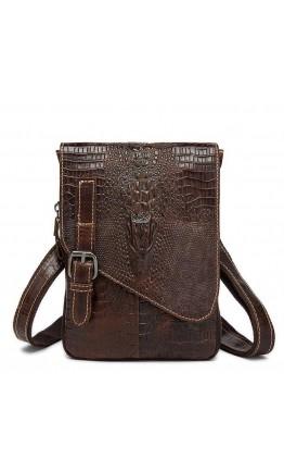 Мужская сумка на плечо с тиснением Vintage 20038