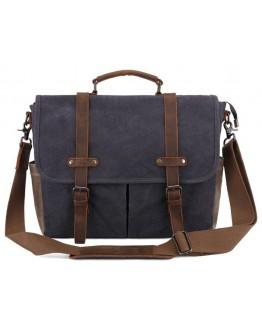 Серая мужская сумка Vintage 20059 Серая