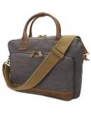Фотография Серая текстильная сумка Vintage 20062