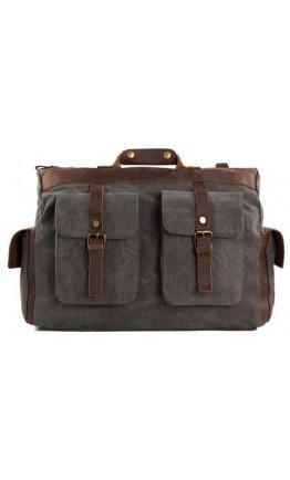 Текстильная вместительная мужская сумка Vintage 20066