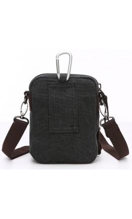 Мужская тканевая сумка - барсетка Vintage 20082