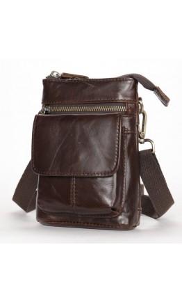 Мужская небольшая сумка кожаная Vintage 20097