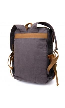 Серый мужской вместительный рюкзак Vintage 20108