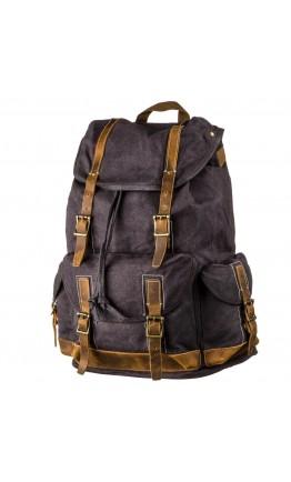 Рюкзак серый мужской Vintage 20110