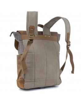 Мужской рюкзак комбинированный Vintage 20113 серый