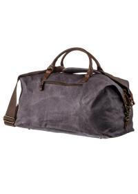 Серая дорожная сумка мужская Vintage 20114