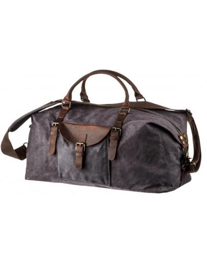 Фотография Серая дорожная сумка мужская Vintage 20114