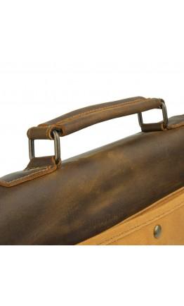 Мужская текстильно - кожаная сумка Vintage 20120