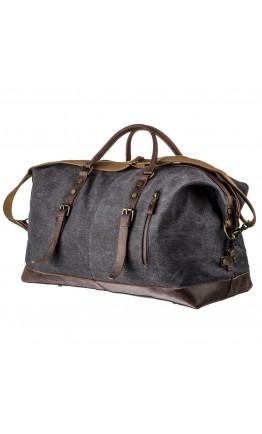 Мужская дорожная тканево-кожаная сумка Vintage 20130