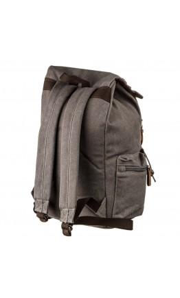 Текстильный рюкзак удобный серый Vintage 20133