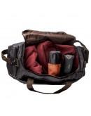 Фотография Текстильная черная мужская большая сумка Vintage 20136
