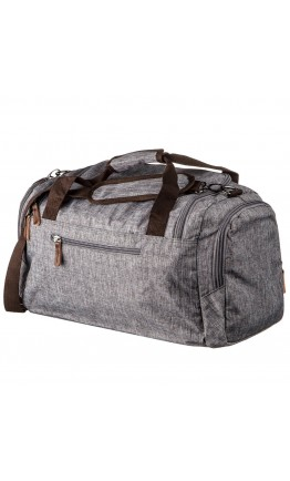 Текстильная серая мужская большая сумка Vintage 20137