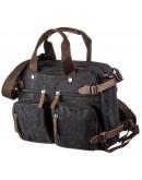 Фотография Черная тканевая сумка - трансформер Vintage 20144