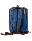 Фотография Синяя текстильная мужская сумка - траснформер Vintage 20147
