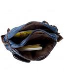 Фотография Большая текстильная синяя сумка - трансформер Vintage 20153