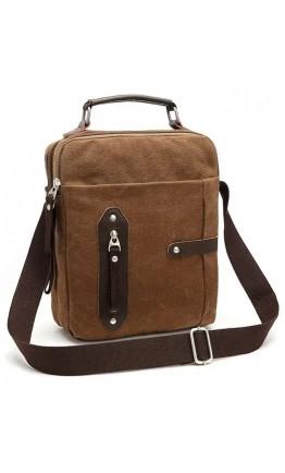 Текстильная мужская сумка на плечо Vintage 20155