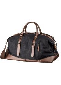 Дорожная черная мужская сумка Vintage 20166
