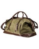 Фотография Тканевая сумка для командировок цвета хаки Vintage 20167