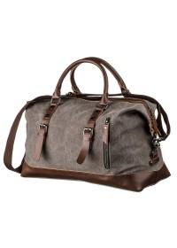 Серая текстильная мужская сумка Vintage 20169