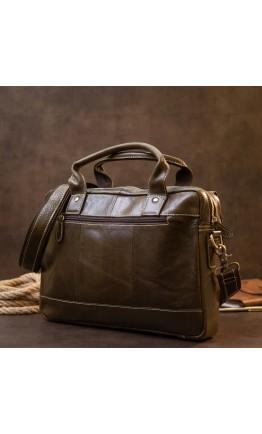 Деловая мужская кожаная сумка Vintage 20443