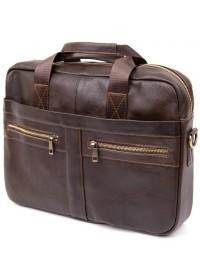 Кожаная деловая мужская сумка Vintage 20453