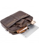 Фотография Кожаная деловая мужская сумка Vintage 20453