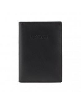 Черная обложка для документов Visconti 2201 Polo (Black)