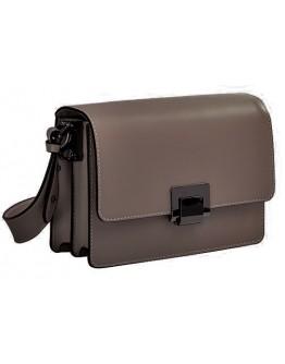 Кожаная компактная женская сумка VIRGINIA CONTI 2203taup