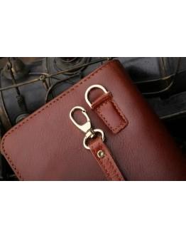 Клатч мужской темно-коричневый Vintage 14197