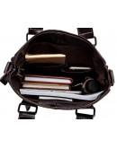 Фотография Коричневая удобная сумка мужская в руку и на плечо 259C