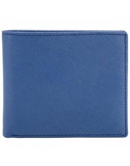 Синий кошелек Smith Canova 26826 Devere (Navy-Black)