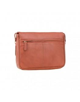 Женская кожаная удобная сумка 3190 Claudia (Brown)