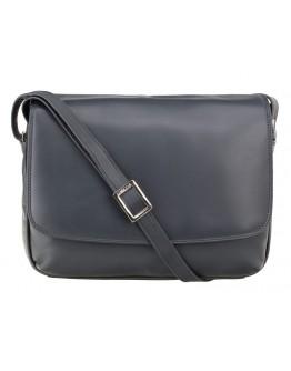 Темно-синяя женская кожаная сумка Visconti 3190 Claudia (Navy)