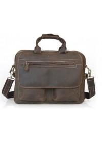 Оригинальный добротный кожаный портфель 732592