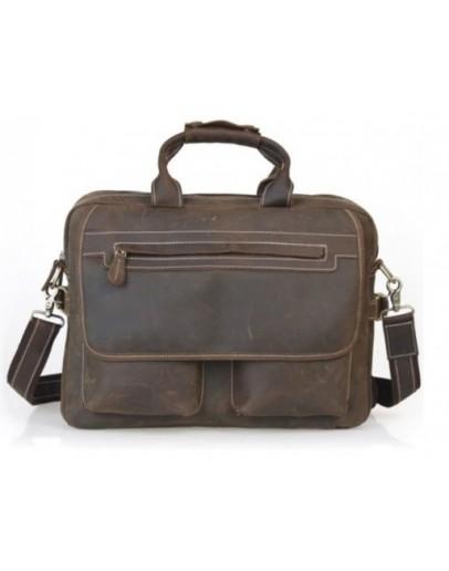 Фотография Оригинальный добротный кожаный портфель 732592