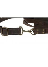 Коричневая мужская сумка - папка для документов 5-238 SKE
