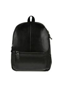 Чёрный кожаный рюкзак на каждый день 75186a