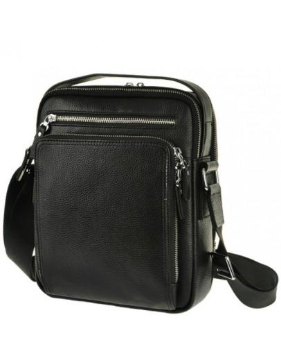 Фотография Удобная сумка в руку и на плечо чёрного цвета 5608-1a