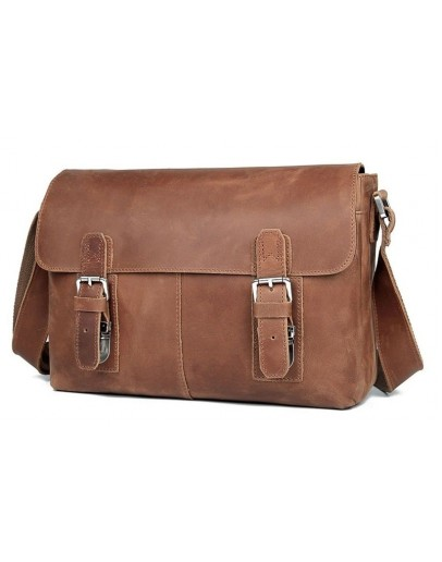 Фотография Крутая качественная винтажная сумка на плечо 76002B