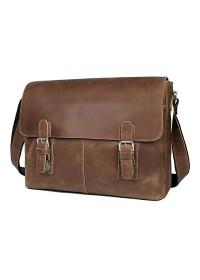 Мега модная и винтажная кожаная сумка на плечо 76002LR