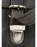 Фотография Кожаная добротная сумка на плечо из кожи лошади 76002R