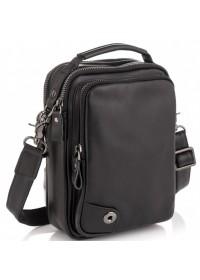 Черная мужская небольшая сумка - барсетка Tiding Bag 6009A