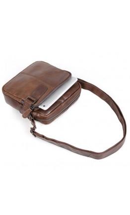 Качественная и классная мужская сумка из кожи 76012