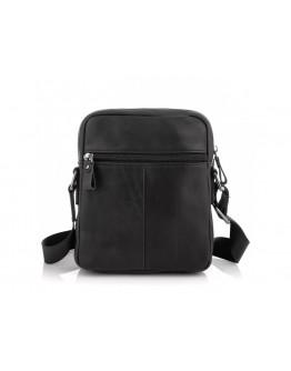 Сумка мужская черная на плечо Tiding Bag 6027A