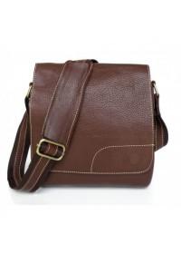 Компактная сумка на плечо из говяжьей кожи 76030