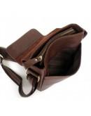 Фотография Компактная сумка на плечо из говяжьей кожи 76030