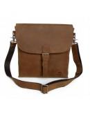 Фотография Вместительная сумка на плечо из лошадиной кожи 76053