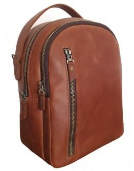 Кожаный женский коричневый рюкзак 67228801W-SGE