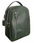Фотография Кожаный женский зеленый рюкзак 67997701W-SGE